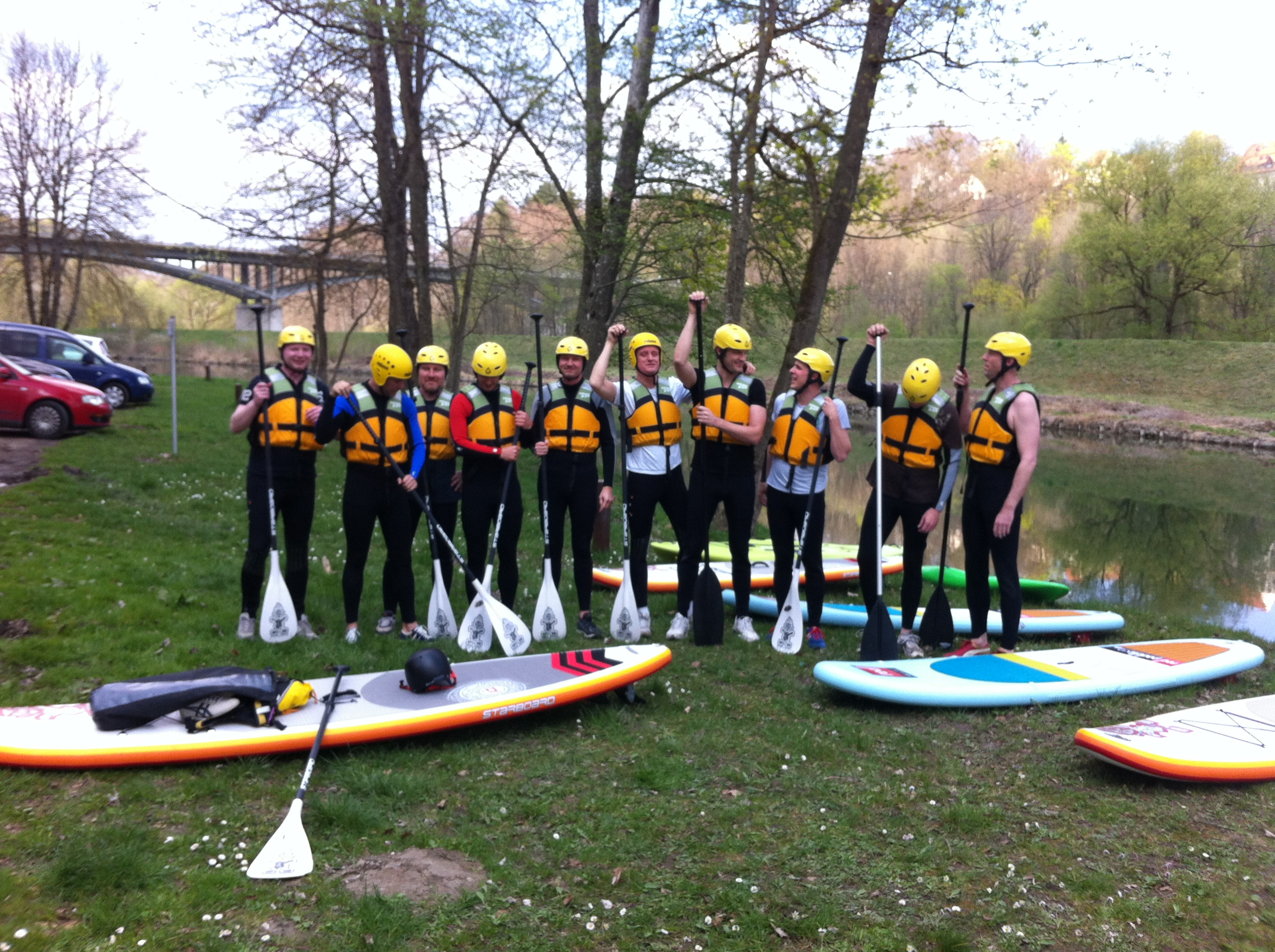 Stand up Paddle Junggesellenabschied