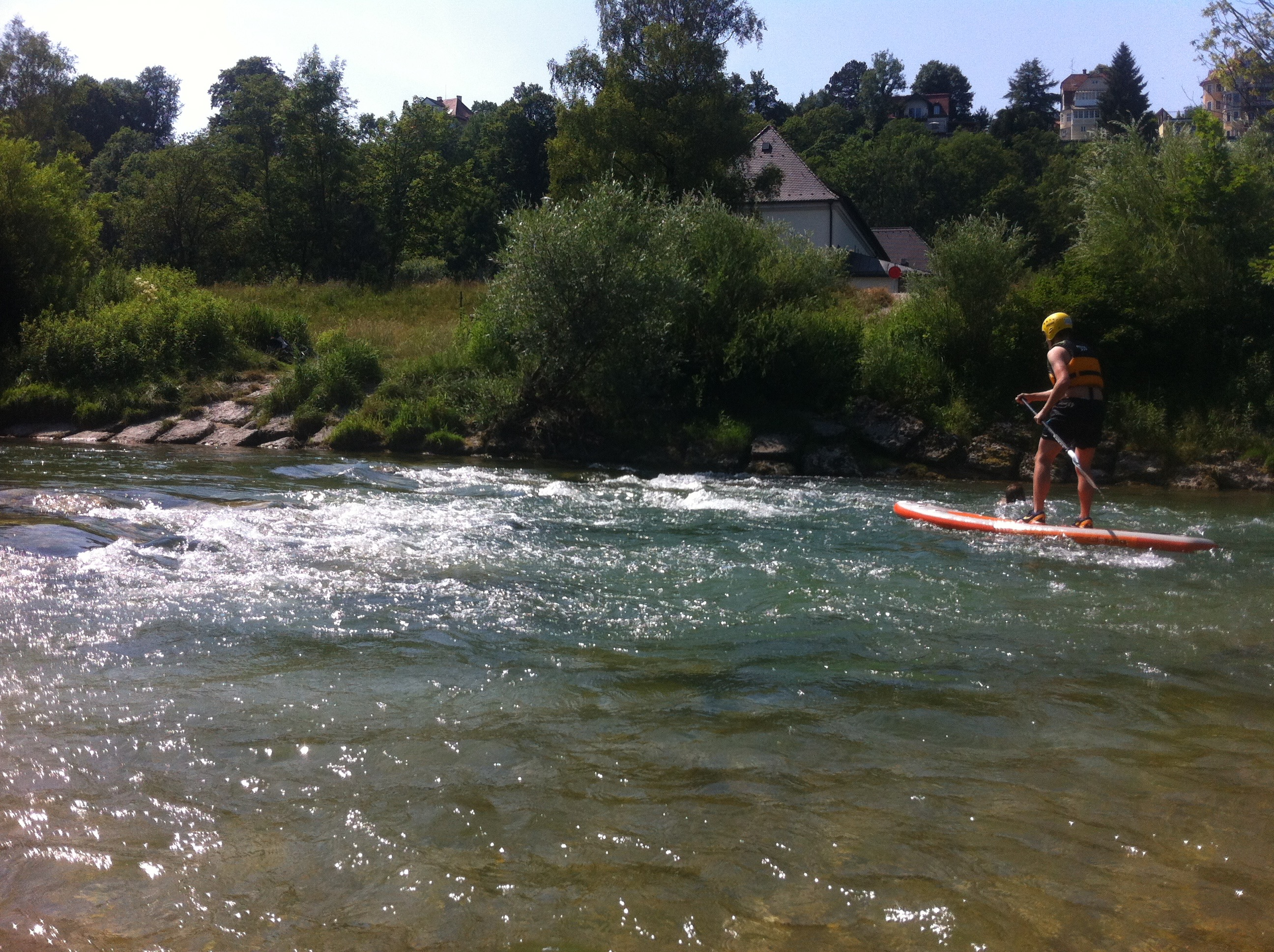 Stand up Paddle Isarkanal